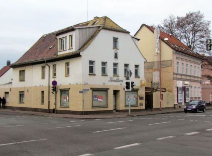 Ehem. Konditorei Liebethal in Liebertwolkwitz (Dez. 2016)