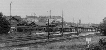 Bahnhof Connewitz 1920