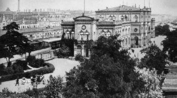 Eilenburger Bahnhof 1905