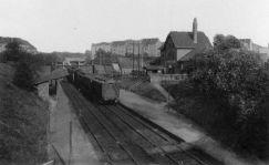 Bahnhof Möckern um 1900