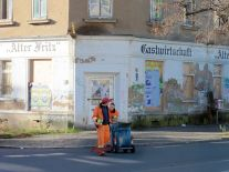 Alter Fritz in der Georg-Schumann-Straße