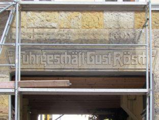 Fuhrgeschäft Gust Rösch