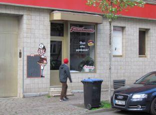 Fleischerei in Stötteritz, April 2016