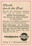 Schallplatten-Versand, Wintergartenstraße 7