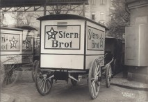 Stern-Brot-Lieferwagen