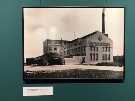 Die Stern-Brot-Fabrik Zschortauer Straße 2020 im Stadtgeschichtlichen Museum