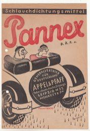Pannex aus der Menckestraße, Werbung von 1932