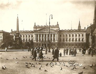 Universitätshauptgebäude am Augustusplatz 1929