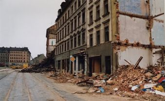 Prager Straße 1992 (Foto: Norbert Lotz)