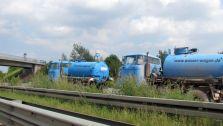 Immer noch im Einsatz: DDR-LKWs W50
