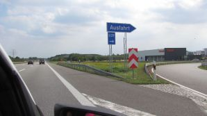 Ausfahrt Leipzig-Nordost