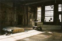 Ende der 1990er in einer Halle auf dem jetzigen Jahrtausendfeld