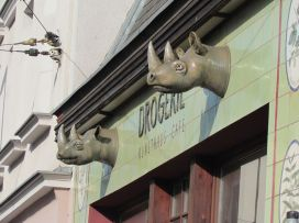 """Gaststätte """"Drogerie"""" in der Menckestraße"""