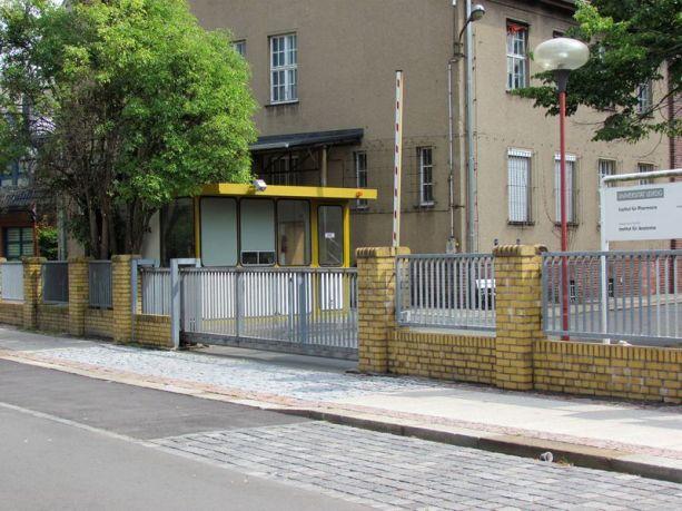 Pförtnerhäuschen in der Eilenburger Straße