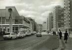 Brühl mit Leipzig-Information (links), 1970er Jahre