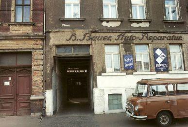 H. Bauer, Auto-Reparaturen, Angerstraße, 1995