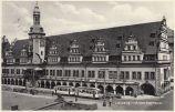 Altes Rathaus mit Straßenbahn, 1934 (Archiv Holger Schmelzer)