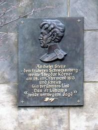 Schneckenberg-Körner-Gedenktafel