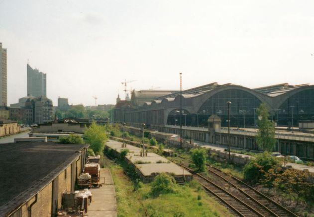 Dresdner Güterbahnhof 1995 (Foto: Holger Schmelzer)