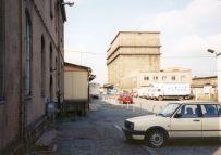Kühlhaus und Milchhof an der Brandeburger Straße 1995, jetzt OBI (Foto: Holger Schmelzer)
