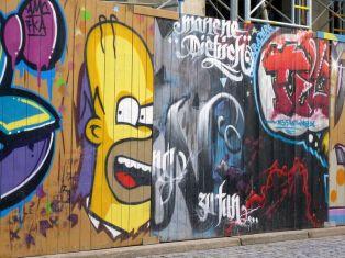 Homer in der Hainstraße