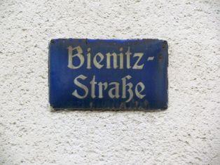Altes Schild in der Blüthnerstraße