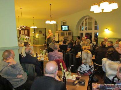 Stadtführung im Sitzen am 24.01.2018 im Café Eigler