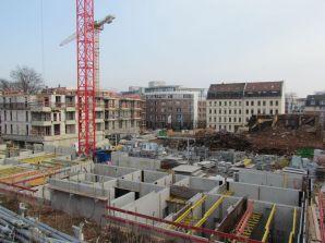 Bild 2a: Blick vom Lidl-Parkplatz zur IKK