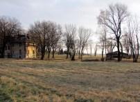 Alte Villa und Blick nach Leipzig
