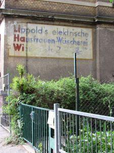 Lippold's elektrische Hausfrauen-Wäscherei, Wielandstraße