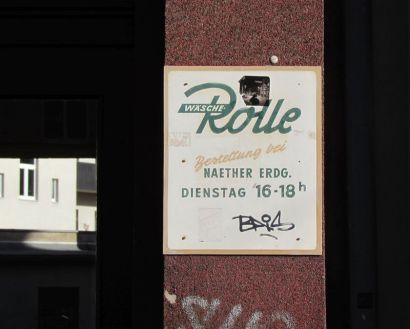 Wäsche-Rolle in der Könneritzstraße