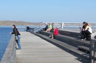 Seebrücke Braunsbedra