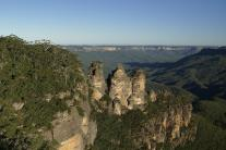 Die Three Sisters in den Blue Mountains