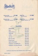 Flips und Fancy Drinks in der Tanzbar Melodie, 1960
