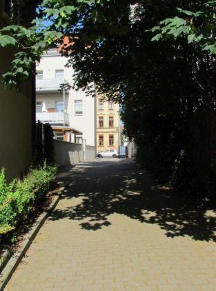 Blick zur Windorfer Straße