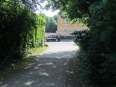 Martinsplatz, Blick zur Windorfer Straße