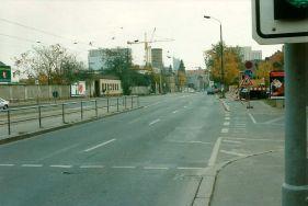 1994: Post in der Eutritzscher Straße (Flachbau), Foto: Lukas Zahn