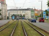 Eutritzscher Straße, Blick zum Chausseehaus