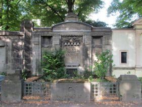 Grabstätte Ermisch auf dem Connewitzer Friedhof