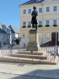 Gellert-Denkmal in Hainichen