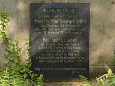 Gellert-Grab in Rückmarsdorf
