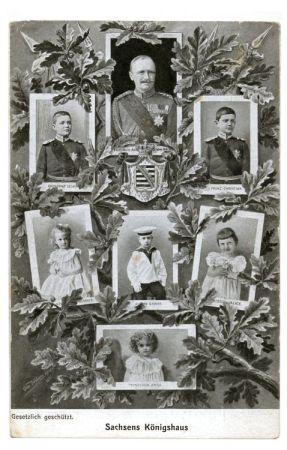 1906 regierten noch die Wettiner