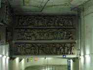 Bauschmuck in der Tiefgarage