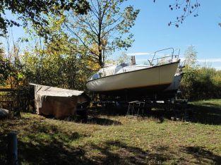Boote, aber kein Wasser