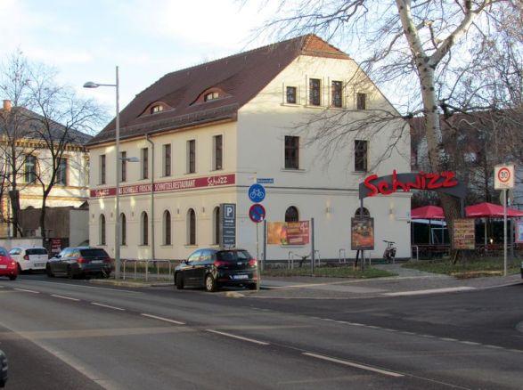 Das Goetzhaus in der Lützner Straße