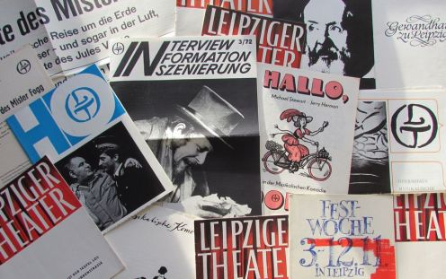 Theaterprogramme aus den 1960ern und 1970ern