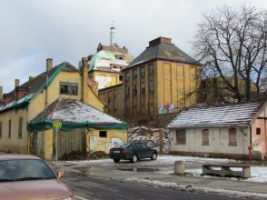 Alte Sternburg-Brauerei in Lützschena im Februar 2012