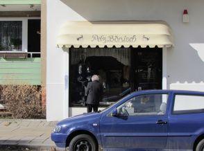 Pelzgeschäft in der Kochstraße im März 2012
