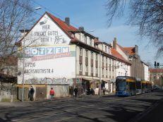Wer kennt noch Götzen? - Ratzelstraße in Kleinzschocher