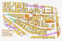 Vermutliche Position des Hauses Reinhartstraße 8 (Abb. wortblende)